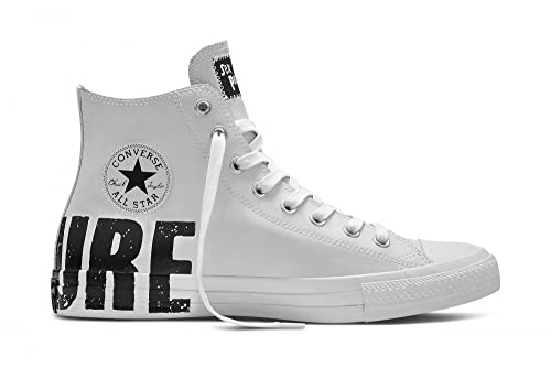 b30d6bb7d107 Converse Sex Pistols Chuck Taylor White Rubber Sneakers (13)  Amazon ...
