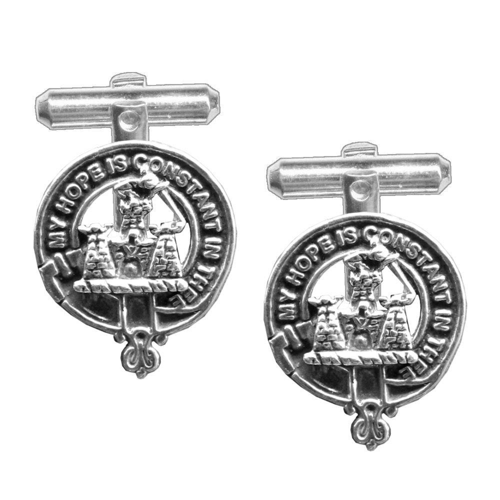 MacDonald (Clanranald) Scottish Clan Crest Cufflinks
