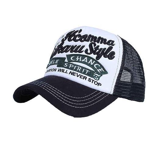Amazon.com: Ron Kite Embroidery Baseball Cap Outdoor Sunscreen Mesh Caps Casual Sport Snapback Hat Men Hip Hop Cap Gorras Hats: Clothing