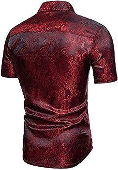Camisa De Leñador Hombres De Moda Clásica Solapa Mode De Marca De Manga Corta para Hombre Básico De Verano De Verano Ocio Imprimir Enrejado Camisas Tops (Color : Verde, Size : M):