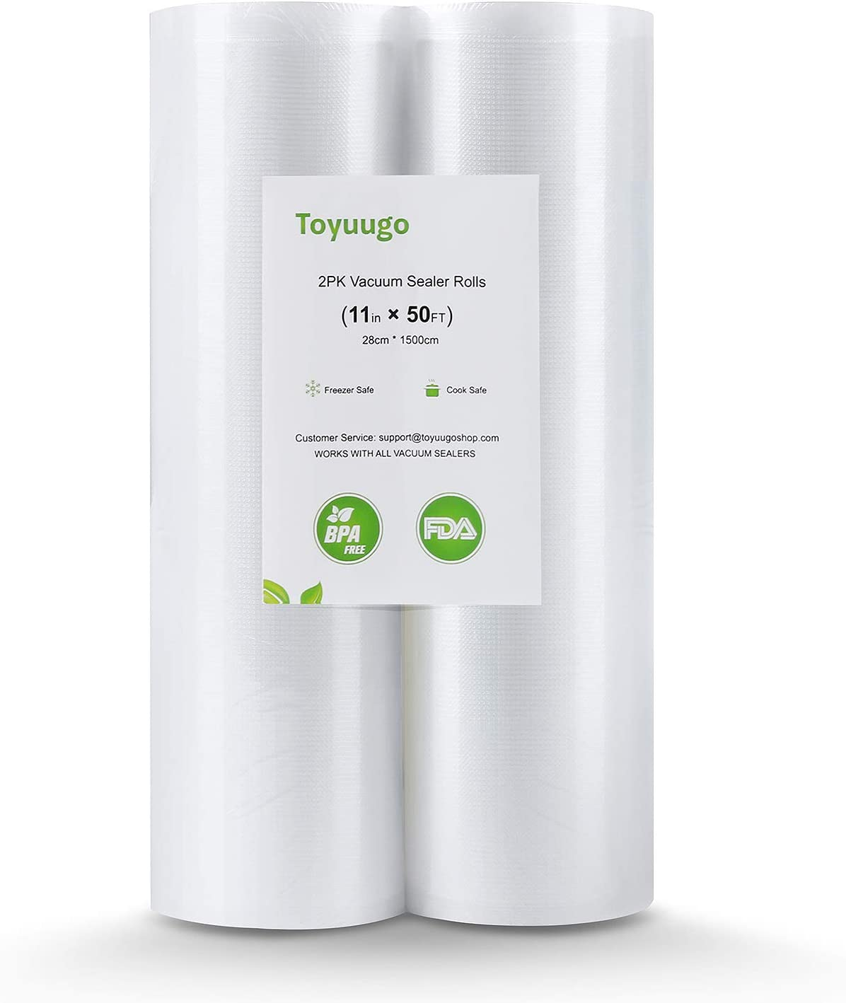 Toyuugo Vacuum Sealer Bags, 2 Pack 11