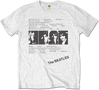 THE BEATLES white t shirt for Men/'s
