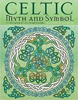 amazoncom celtic myth symbol a coloring book of celtic art and mandalas 9781631363184 jen delyth amber lotus publishing books - Celtic Coloring Book