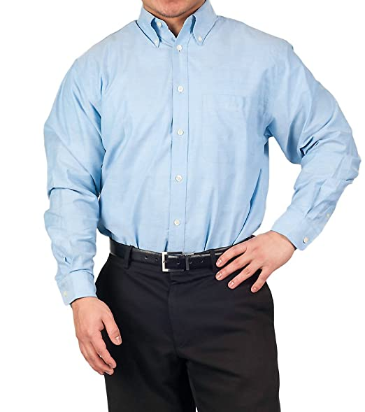 Mens Long Sleeve Oxford Shirt At Amazon Men S Clothing Store