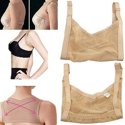 a405b1707d13a Lolicute Adjustable Shoulder Back Posture Corrector,Chest Brace Support  Belt Vest Shoulder Back Poor Posture