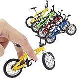 VANKERTER 8pcs Mini Finger Bikes Mini Extreme