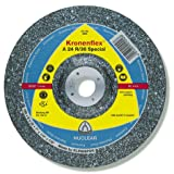 KLINGSPOR A 24 R 36 Rough Grinding Wheel 115 x 6 x 22,23 MM Pack of 10–2488 GEK shap