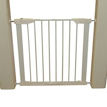 PawHut Retractable Safety Gate Dog Pet Baby Kids Barrier Folding Protector  Home Doorway Room Divider Stair