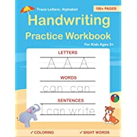 Image for Trace Letters: Alphabet Handwriting Practice workbook for kids: Preschool writing Workbook with Sight words for Pre K, Kindergarten and Kids Ages 3-5. ABC print handwriting book
