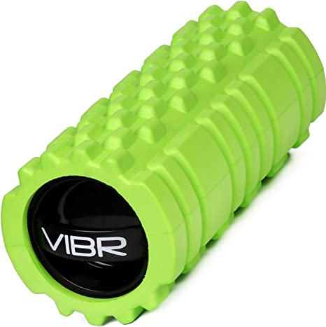 Vibrating Foam Roller 3 Speed High Intensity Electric Rechargeable Foam Roller