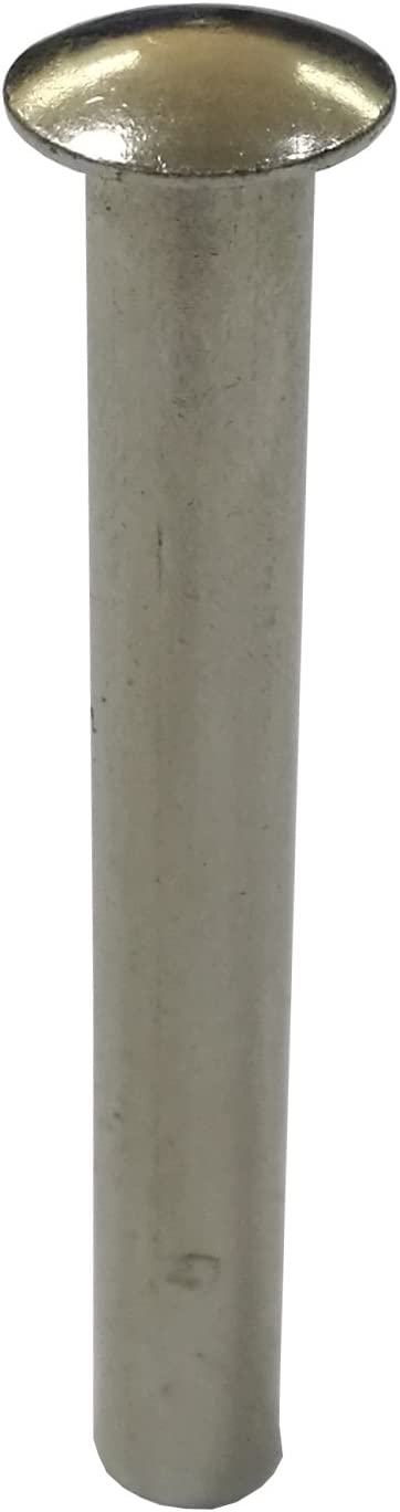 x 0.7 L Stainless Steel Tubular Rivet 18203-6X18-12PK FixtureDisplays 12-Pack 0.23 Dia