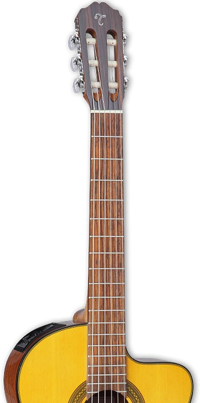 Takamine - Guitarra eléctrica de cuerpo sólido de 6 cuerdas, mano ...