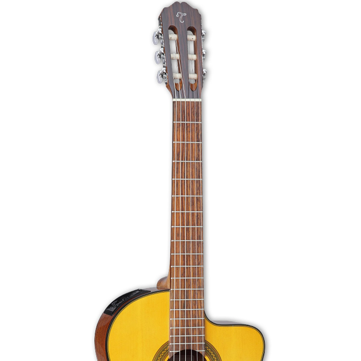 takamine gc1ce nat classical acoustic electric guitar