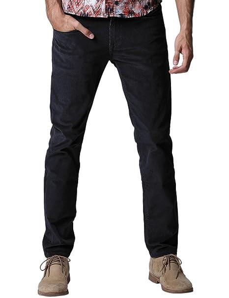 00c90faaba Match 8052 - Pantalones De Pana Algodón Slim Fit Casual Stretch para Hombre   Amazon.es  Ropa y accesorios
