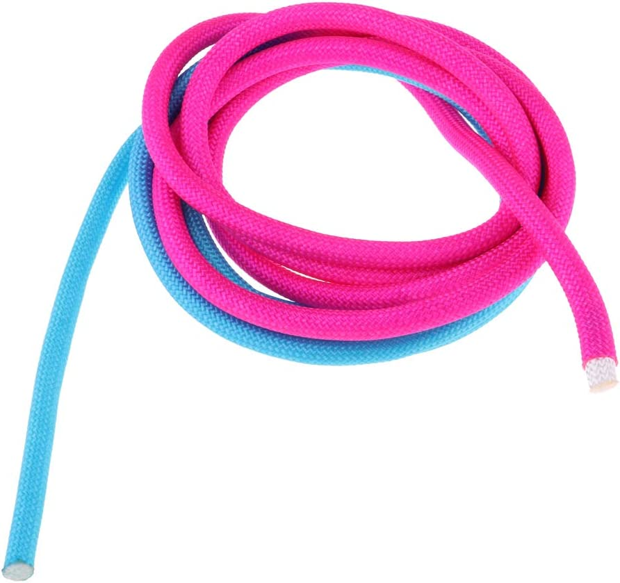 Toygogo Cuerda De La Gimnasia Artística del Color del Iris Cuerda De La Aptitud del Ejercicio