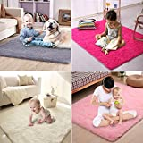PAGISOFE Soft Boys Girls Room Rug Baby Nursery