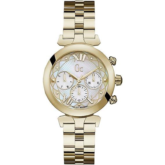 GC Gc LadyBelle Reloj de mujer cuarzo correa de metal caja de Y28003L1