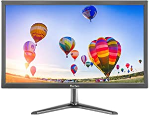 19 Inch PC Monitor(1366x768),60 Hz, 5 ms,Brightness 250 cd/m²,Built-in Speaker,HDMI & VGA Interface,Display Screen for Laptop/PS3/PS4/X-Box/PC,Black,Prechen