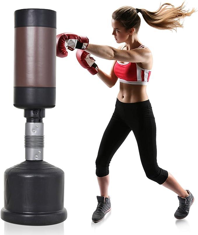 2021 Standboxsack Boxsack Boxpartner Boxdummy Punching-Training Boxsäcke MMA DHL