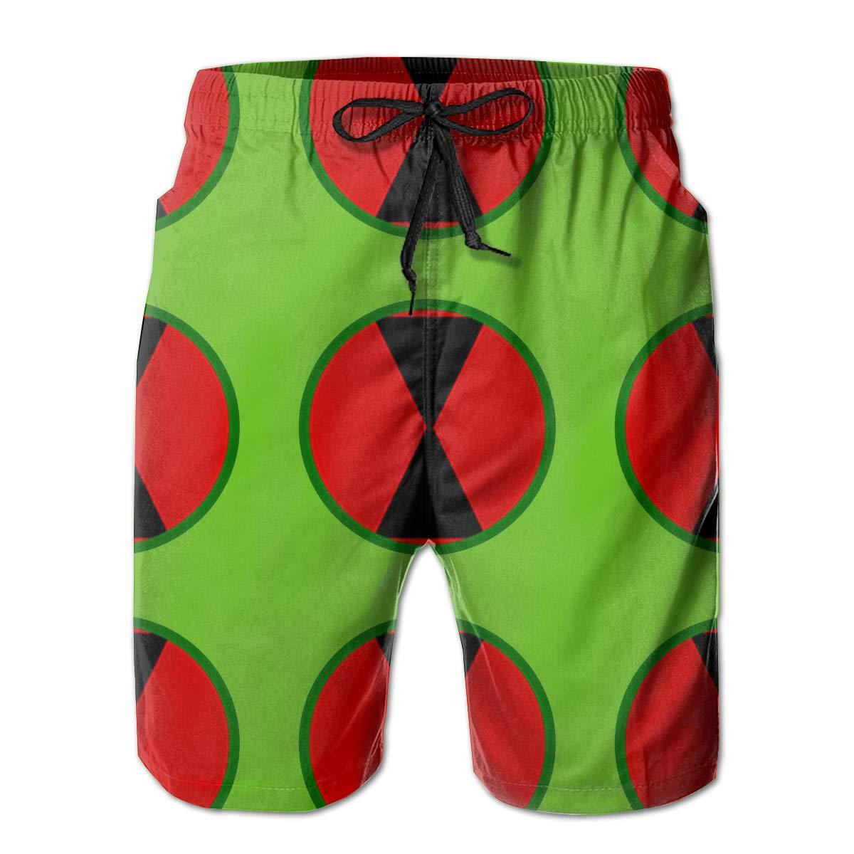 7th Infantry Division Logo Mens Swim Trunks Bathing Suit Beach Shorts