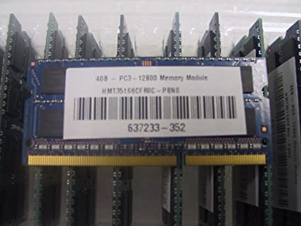 Hynix HMT451U7BFR8A-PB Equivalent 4GB DDR3 PC3-12800 ECC UDIMM Memory RAM