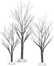 Department 56 Snow Village First Frost Trees (Set of 3)