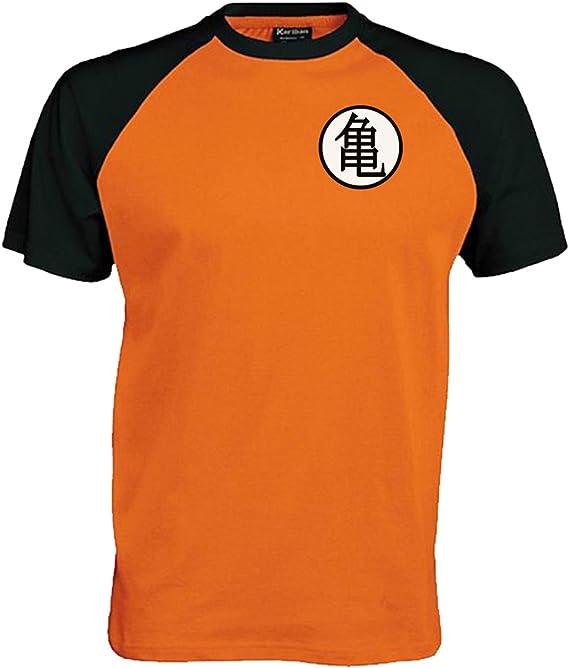 Lifeguardgear Goku - Camiseta de béisbol con símbolo de ...