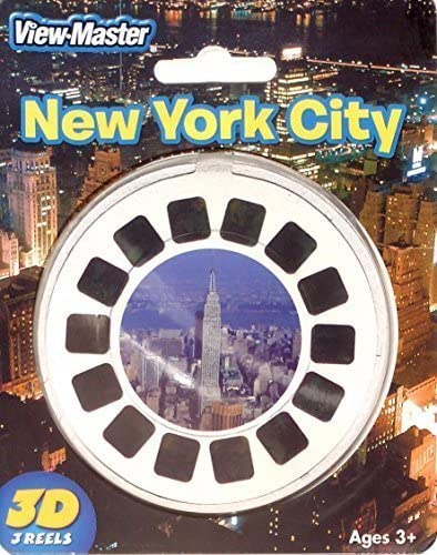 View-Master 3D 3-Reel Card New York City