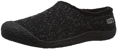 4165b64f87cf Keen Women s Howser Slide Wool Clog Black knobby Steel Grey 5 ...