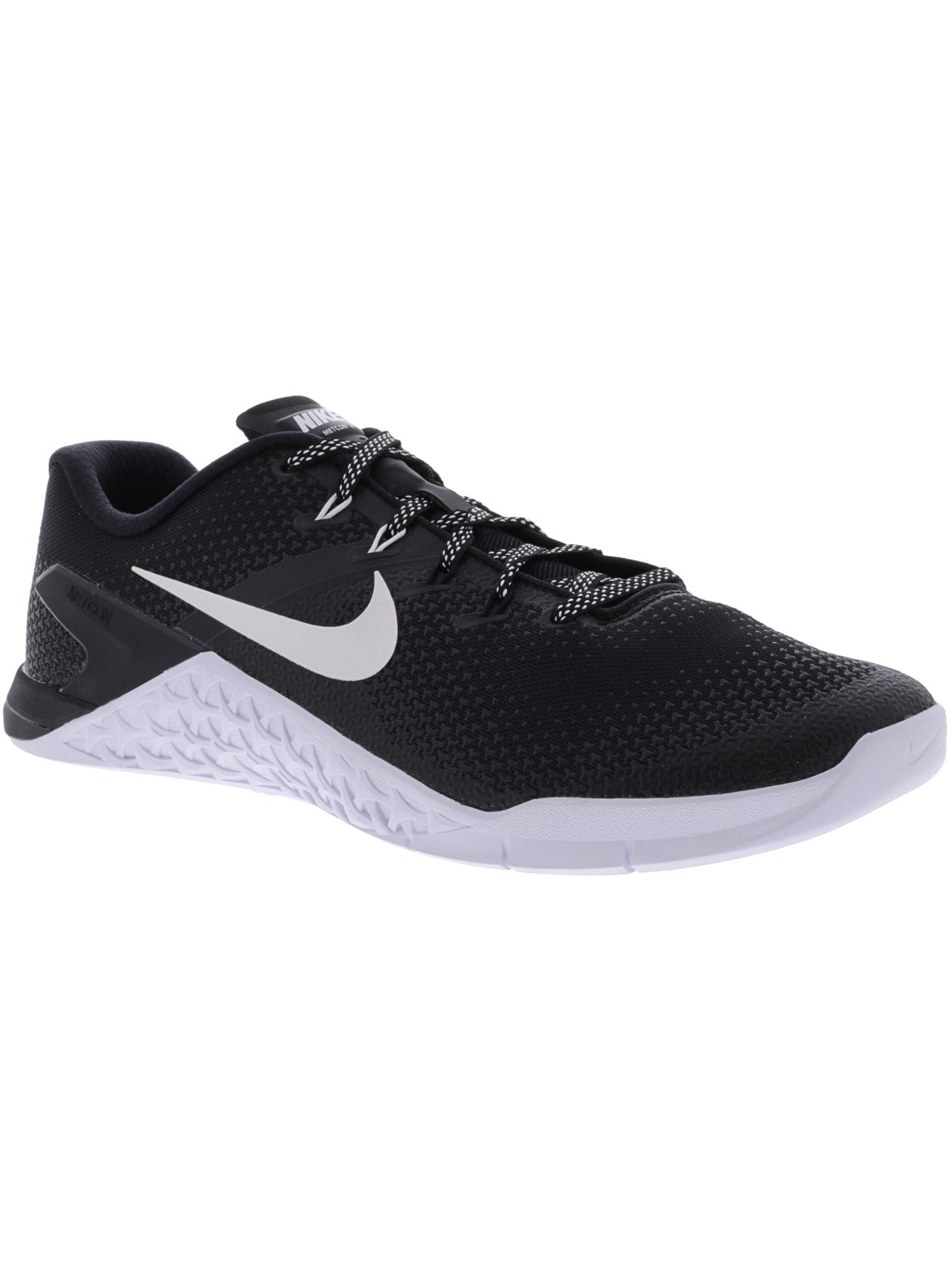 Nike Men's Metcon 4 Black/White Ankle-High Cross Trainer Shoe - 7M by Nike (Image #3)