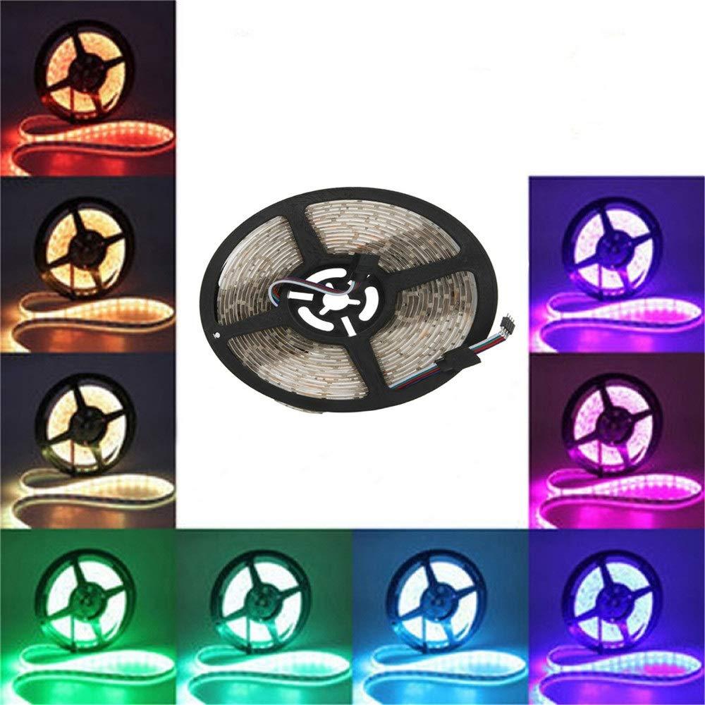 Ouyingmatealliance LED Light LED-Licht YWXLLight 5m 300LEDs 5050SMD RGB wasserdichte Helligkeit Flexible LED-Lichtleiste DC 12V
