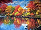 Autumn Tranquility 1000+ pc Large Piece Jigsaw Puzzle by SunsOut