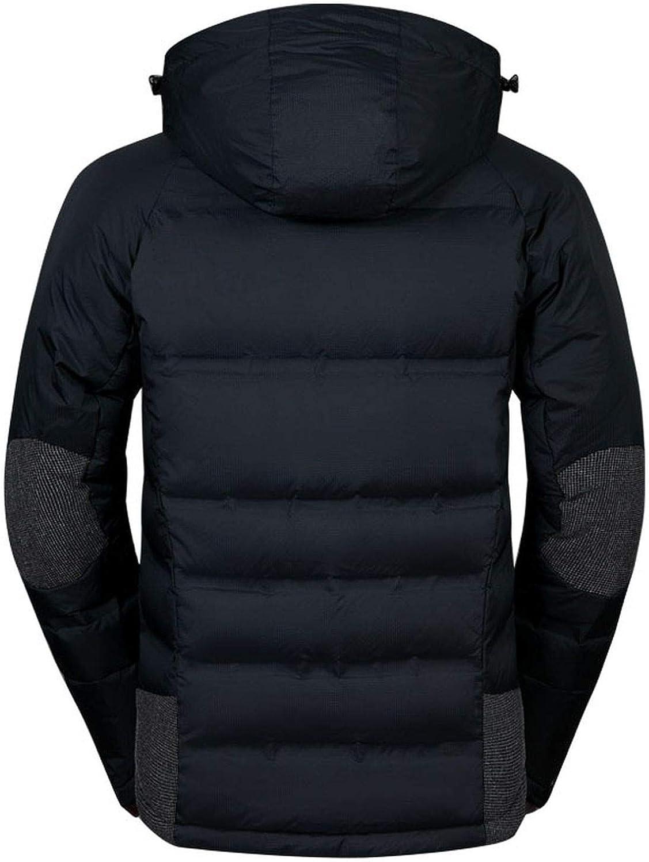 Fashion Men Winter Jackets White Duck Down Jacket Men Casual Thick Warm Outwear