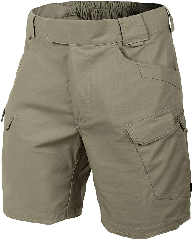 Helikon Hombres Urban Tactical Pantalones Cortos 8.5 Adaptive Verde