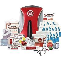 Earthquake Preparedness Kit, Emergency Kit, Survival Kit for 2 Person - 72HRS Backpack Deluxe Kit by 72Hours