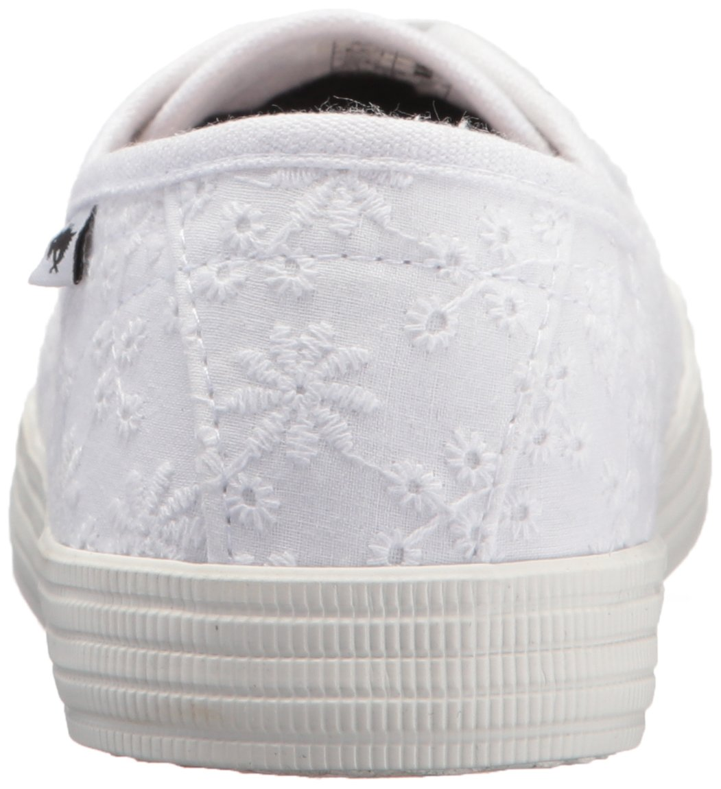 Rocket Dog Women's Chowchow Lucky Eyelet Cotton Sneaker, White, 9.5 Medium US by Rocket Dog (Image #2)