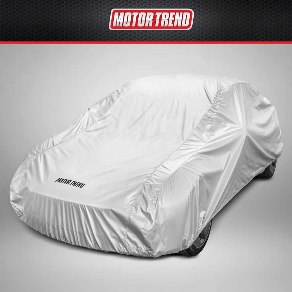 Motor Trend FlexCover Waterproof Car Cover for Rain Wind All Weather XL up to 210""