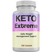 Keto Extreme - Dieta Chetogenica per la Perdita di Peso Pillole Top per Uomo e Donna 120 Compresse