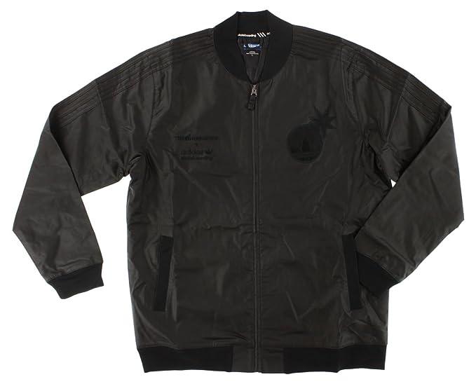 adidas - Chaqueta de chándal, Color Negro: Amazon.es: Ropa y ...