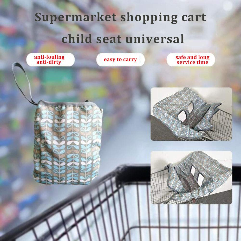 OUYAWEI Baby Stroller 2 in 1 Sitting Cushion Portable Design Safety Outting Shopping Cart Cushion by OUYAWEI