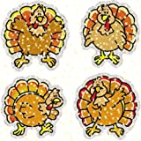 Amazon Price History for:Carson Dellosa Turkeys Dazzle Stickers (2830)