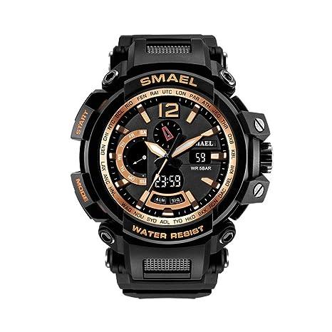 SMAEL serie nueva Militar reloj resistente al agua 50 m S golpes ...