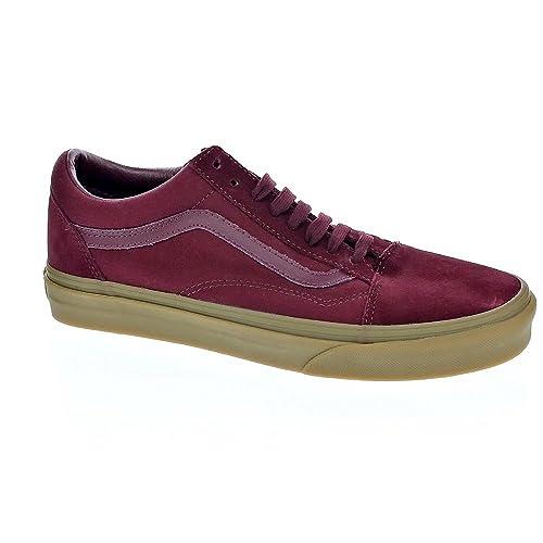 zapatillas vans old skool hombre marron