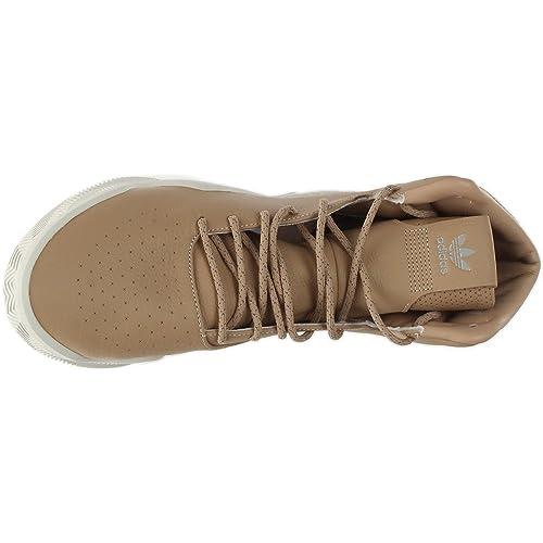 Amazon.com | Adidas Men Tubular Instinct Boost (tan / brown / chalk white)  | Shoes