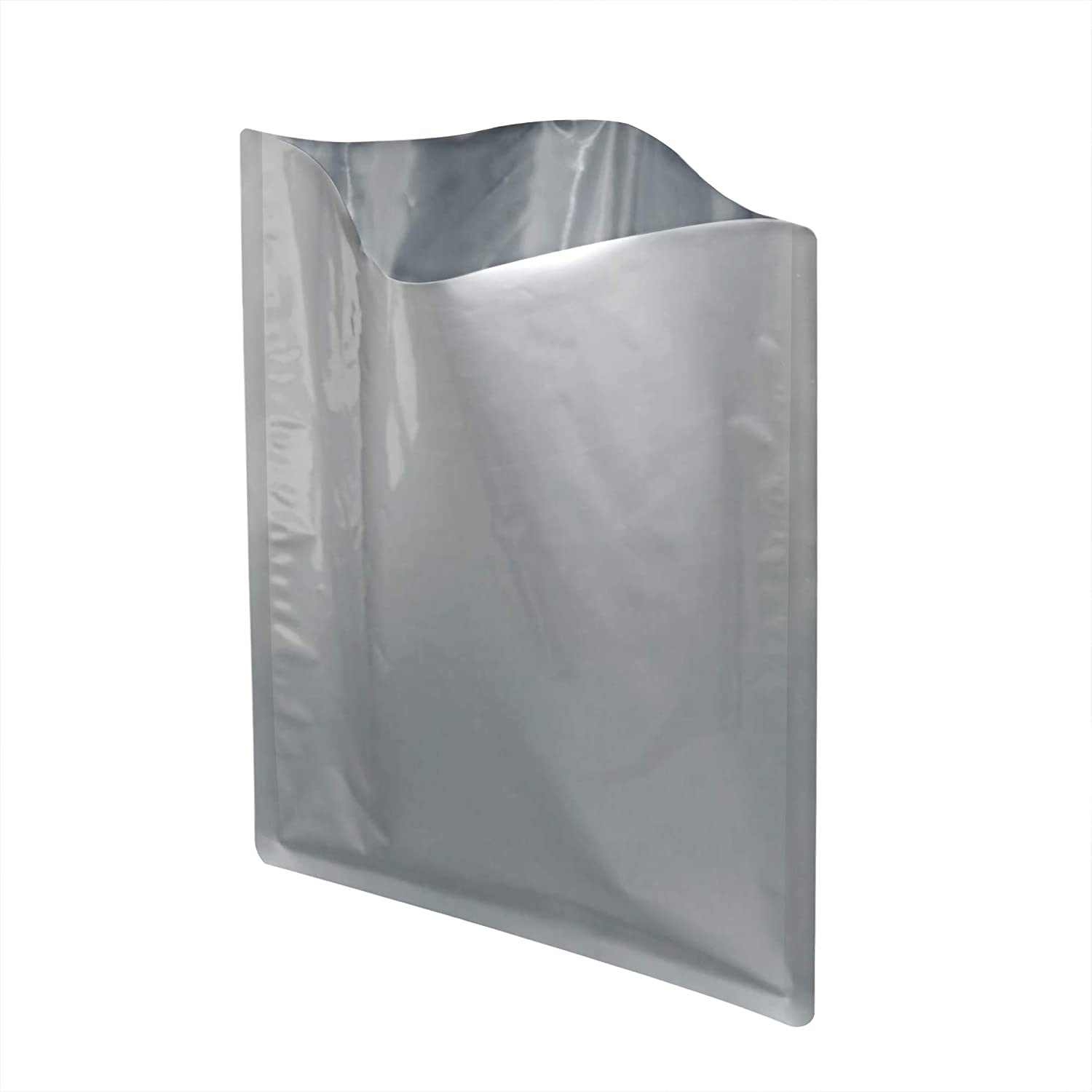 50 Packs 1 Gallon Mylar Bags for Dehydrated Vegetables, Grains, Legumes and Emergency Long Term Food Storage, Food Grade