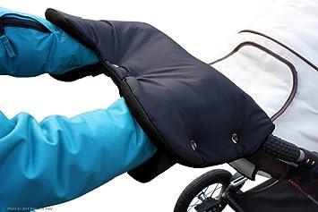 Handwärmer Mixigoo Handschuhe Kinderwagen Handmuff mit Fleece Innenseite,
