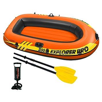 Intex 58357NP - Barca hinchable Explorer Pro 200 con remos e