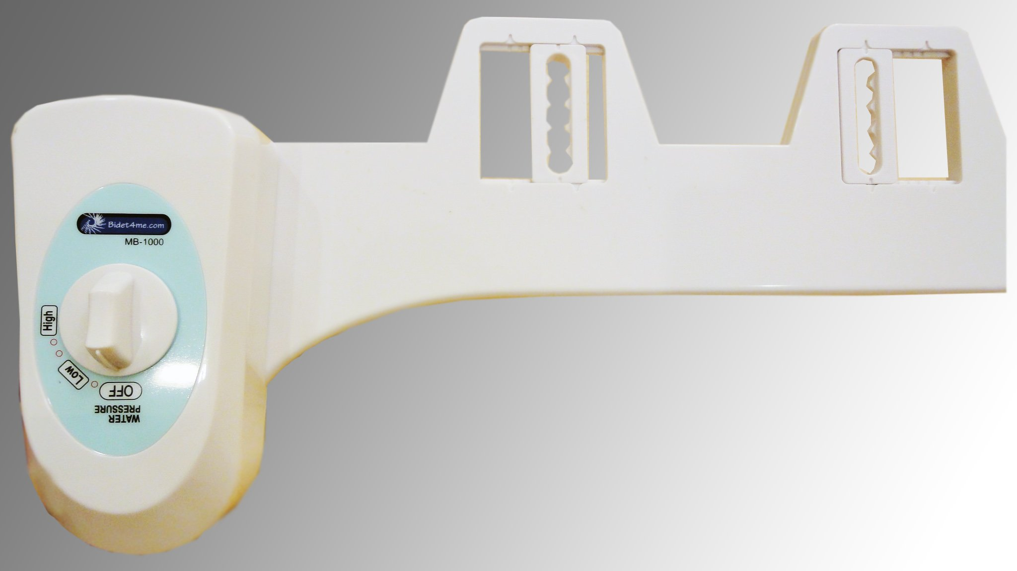 Bidet4me, MB-1000, Fresh Water Spray Non-Electric Mechanical Bidet Toilet Seat Attachment