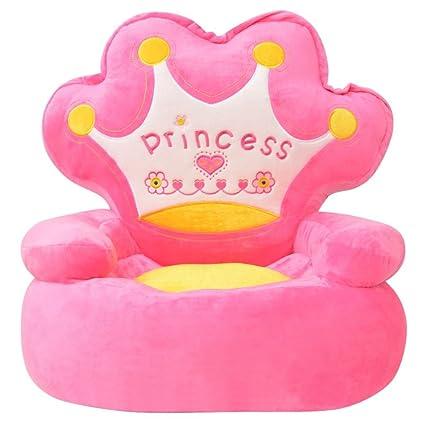 Poltrona Estele Prezzo.Festnight Poltrona Imbottita Per Bambini Principessa Rosa