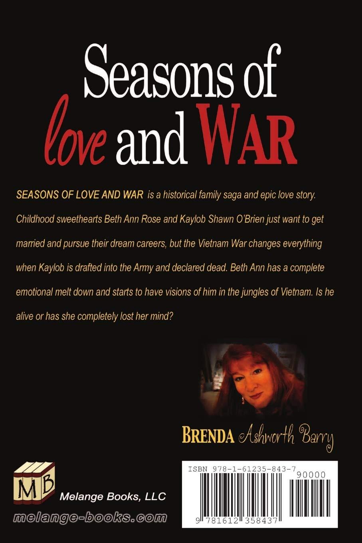 Read Seasons Of Love And War By Brenda Ashworth Barry